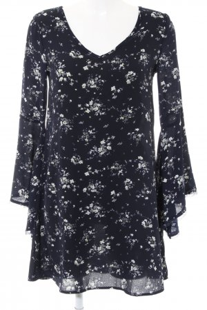 Apricot Blouse Dress black-white allover print casual look