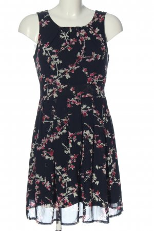 Apricot Cocktail Dress allover print casual look