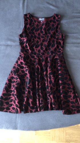 Apricot Petticoat Dress black-bordeaux
