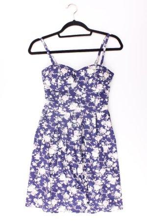 Apricot Kleid blau Größe M