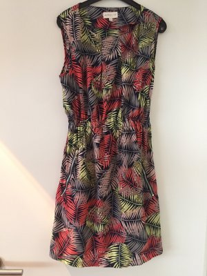 Apricot Summer Dress multicolored