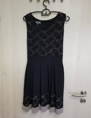 Apricot Lace Dress black