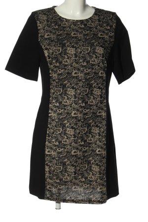 Apricot Shortsleeve Dress black-natural white mixed pattern casual look