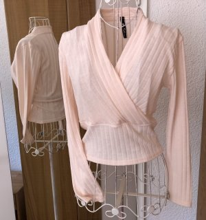 Influence Knitted Wrap Cardigan apricot