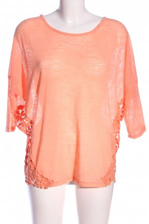 Apricot Langarm-Bluse nude Casual-Look