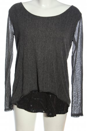 Apricot Long Sleeve Blouse light grey-black casual look