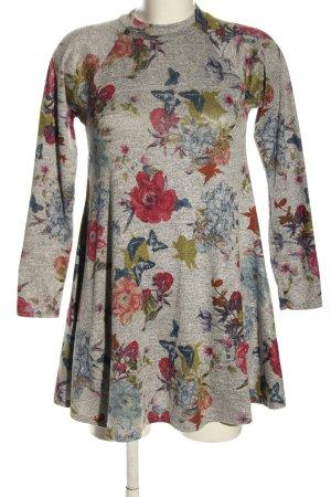 Apricot Robe à manches longues imprimé allover style décontracté