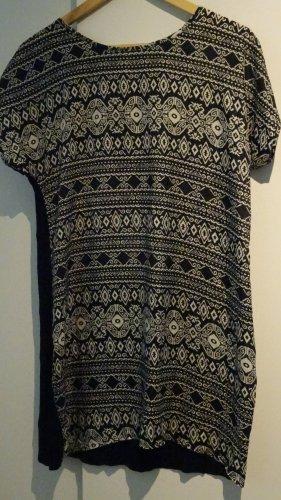 Apricot Long Shirt black-white polyester
