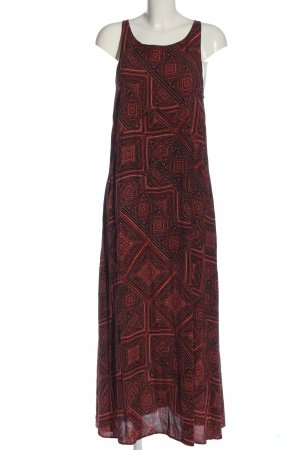 Apricot Maxikleid rot-schwarz Allover-Druck Casual-Look