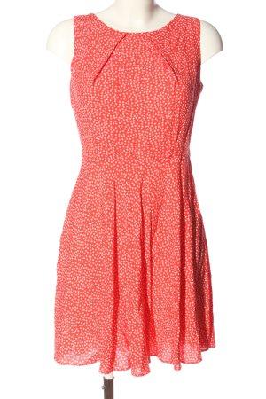 Apricot Mini Dress red allover print elegant