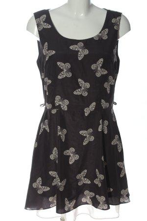 Apricot Mini Dress black-natural white allover print casual look