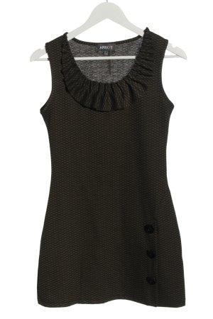 Apricot Sukienka mini czarny-w kolorze białej wełny Na całej powierzchni