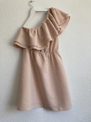 *Apricot* One-Shoulder-Kleid, Gr. 38