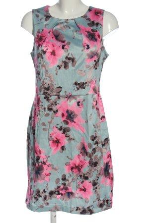 Apricot Tube Dress allover print elegant