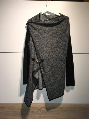 Apricot Veste en tricot noir-argenté polyester