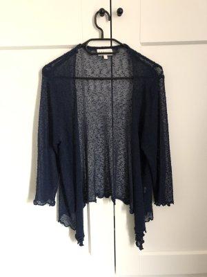 Apricot Cardigan tricotés bleu foncé