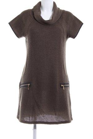 Apricot Gebreide jurk bruin casual uitstraling