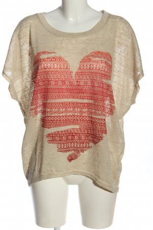 Apricot Knitted Jumper natural white-red flecked casual look