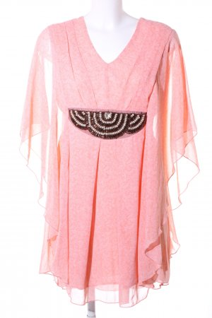 Apricot Tuniekjurk roze-wit volledige print elegant
