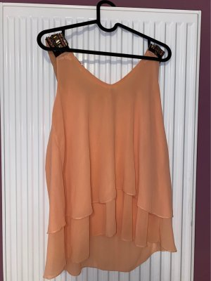 no name Short Sleeved Blouse apricot