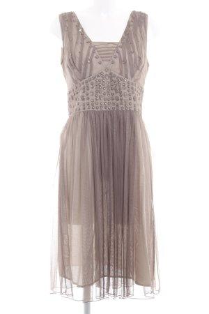 Apriori A-Linien Kleid graubraun Elegant