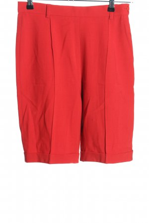 Apriori Bermudy czerwony W stylu casual