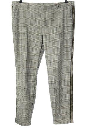 Apriori Pantalone chino motivo a quadri stile professionale