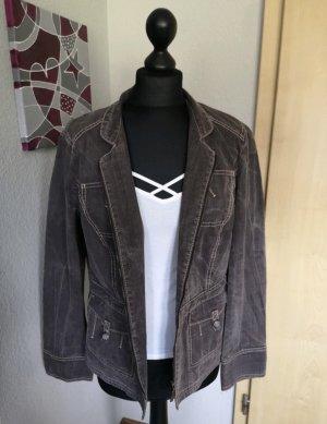 Apriori Damen Blazer Vintage Jeans Anzug braun orange Größe 42