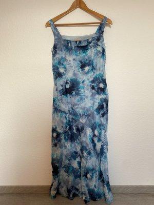 Apriori Sukienka maxi błękitny-niebieski