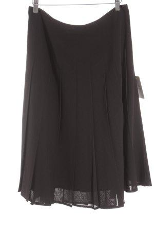 Apriori Faltenrock schwarz klassischer Stil