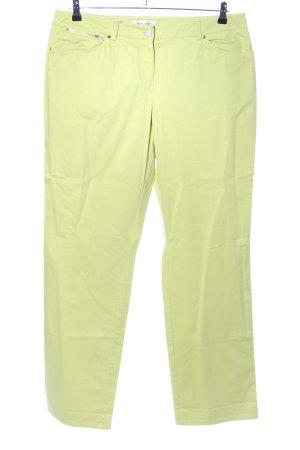 Apriori Five-Pocket-Hose blassgelb Casual-Look
