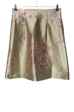 Apriori Jupe taille haute motif de fleur élégant