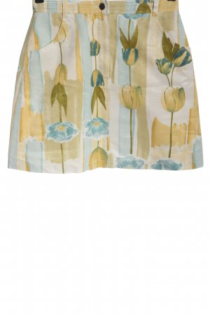 Apriori Rok met hoge taille abstract patroon casual uitstraling