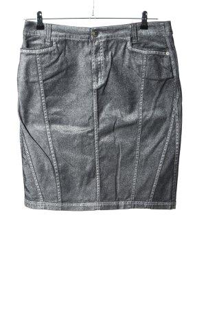 Apriori Jeansowa spódnica srebrny W stylu casual