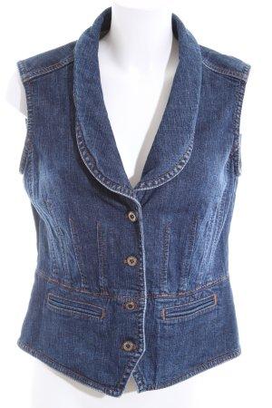 Apriori Denim Vest blue casual look