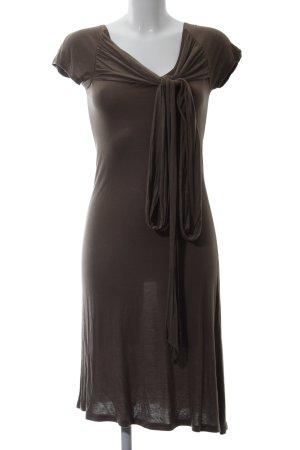 Apriori Jerseykleid braun Casual-Look