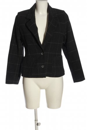 Apriori Short Blazer black-light grey allover print casual look
