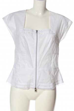 Apriori Camicetta a maniche corte bianco stile casual