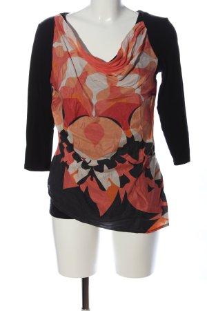 Apriori Bluzka z długim rękawem Abstrakcyjny wzór W stylu casual