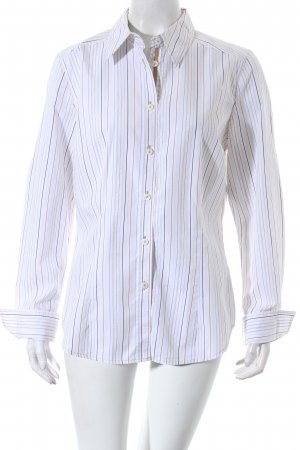 Apriori Long Sleeve Blouse striped pattern business style