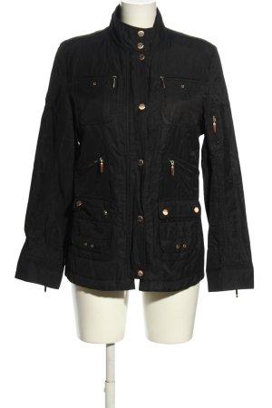 Apriori Lange Jacke schwarz Casual-Look