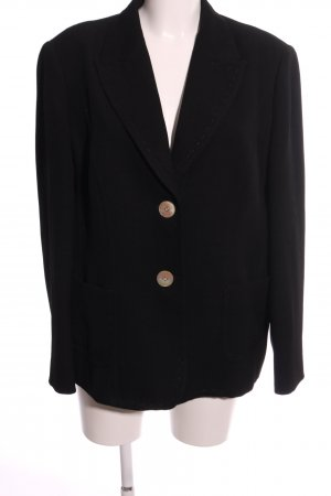 Apriori Long-Blazer schwarz Business-Look