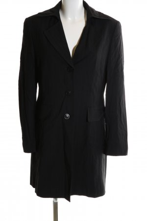 Apriori Long-Blazer schwarz Casual-Look