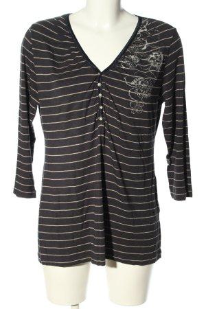 Apriori Koszulka z długim rękawem czarny-w kolorze białej wełny