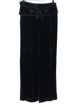 Apriori Spodnie Marlena czarny W stylu casual