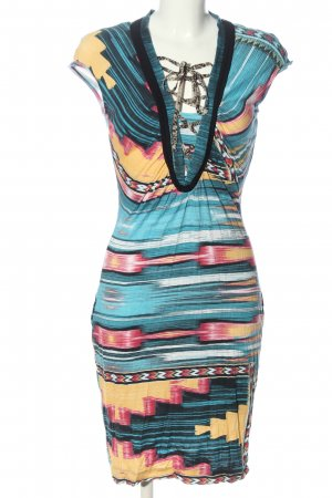 Apriori Jersey Dress abstract pattern casual look