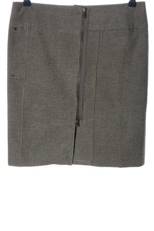 Apriori Mini-jupe gris clair moucheté style décontracté