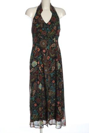 Apriori Sukienka z dekoltem typu halter Abstrakcyjny wzór W stylu casual