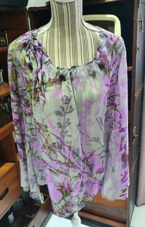Apriori Zijden blouse veelkleurig