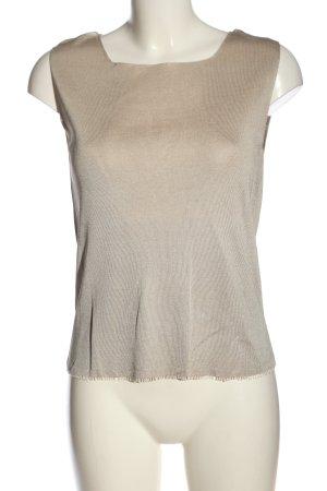Apriori Jedwabna bluzka w kolorze białej wełny-jasnoszary Gradient
